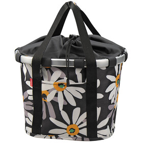 KlickFix Reisenthel Bike Basket Margarite white/black